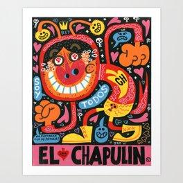 Chipote Chillon Art Print