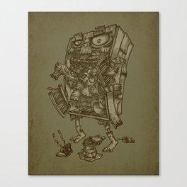 The Walkin' Closet Canvas Print