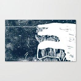 90º N Canvas Print