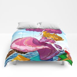 PLEASANTLY PEACHY Comforters