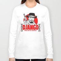 django Long Sleeve T-shirts featuring Django logo by Buby87