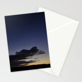 Crescent moon Stationery Cards
