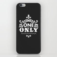 The one and only iPhone & iPod Skin
