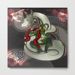 Dragon King Metal Print