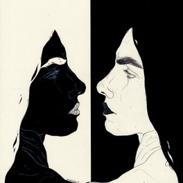 Art Print - One Of Your Nightmares (I will fade) - Kaethe Butcher