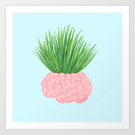 WHAT THE BRAIN IS ACTUALLY DOING Art Print