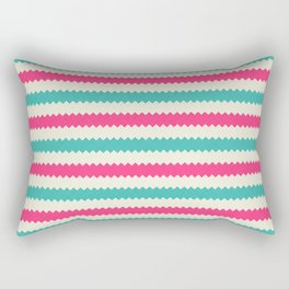 Rainbow Stripes 3 Rectangular Pillow