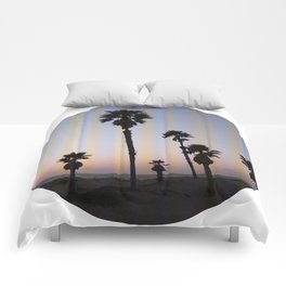 Summer in a Circle Comforters