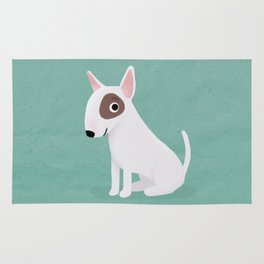 Bull Terrier - Cute Dog Series Rug