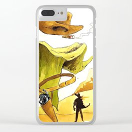 Without a name Clear iPhone Case