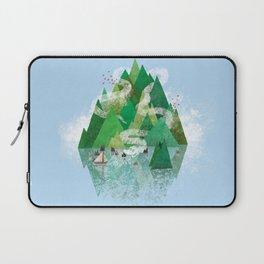Mysterious Island Laptop Sleeve