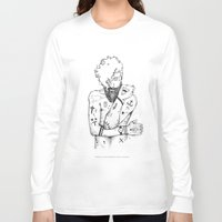 the dude Long Sleeve T-shirts featuring Dude by LSjoberg