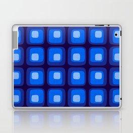 60s Blue Mod Laptop & iPad Skin