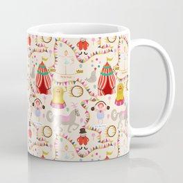 Circus time - Fabric pattern Coffee Mug