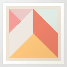 Ultra Geometric VII Art Print