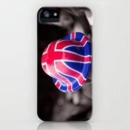 A Patriotic Boy iPhone Case