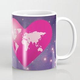 World Love in Universe Coffee Mug