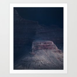 Storm has arrived II, Grand Canyon Art Print