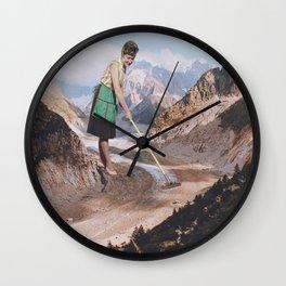 PAST INVADER Wall Clock