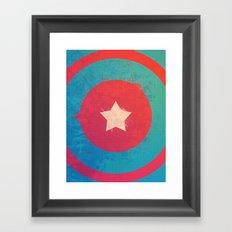 Captain's Sheild! Framed Art Print
