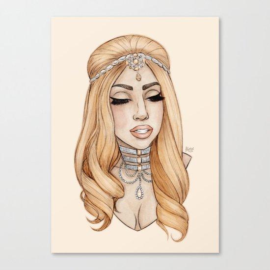 ARTPOP Princess IV Canvas Print