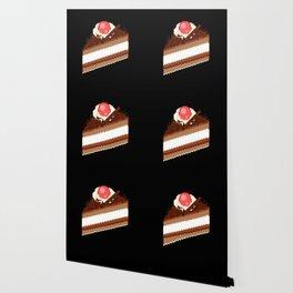 Pixel Chocolate Cake Wallpaper