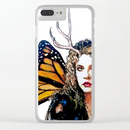 Ooh, Bella Donna - Fairy Stevie Nicks Clear iPhone Case