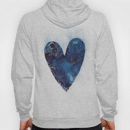 Blue Heart Hoody
