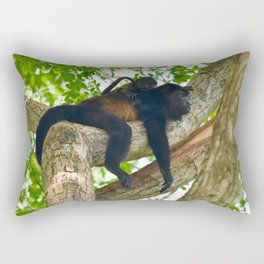 Momma Monkey & Baby Rectangular Pillow