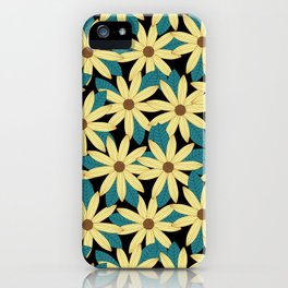 Gerbera Black iPhone Case