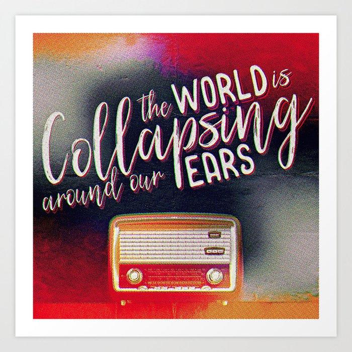 Radio Song Art Print
