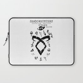 ShadownhuntersRune with Runes Laptop Sleeve
