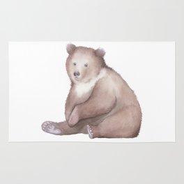 Bear Watercolor Rug