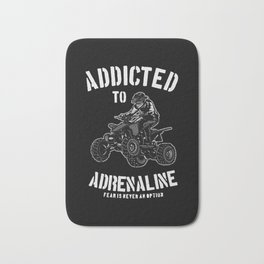 addited to adrenaline Bath Mat