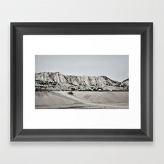 inhale andaluz #2 Framed Art Print