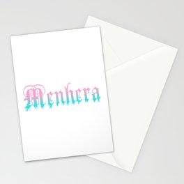 Menhera Yami Kawaii Pastel Goth Stationery Cards