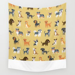 AMERICAN DOGS Wall Tapestry