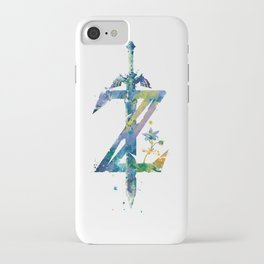 Breath of the Wild iPhone Case