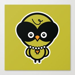Owlivia Canvas Print