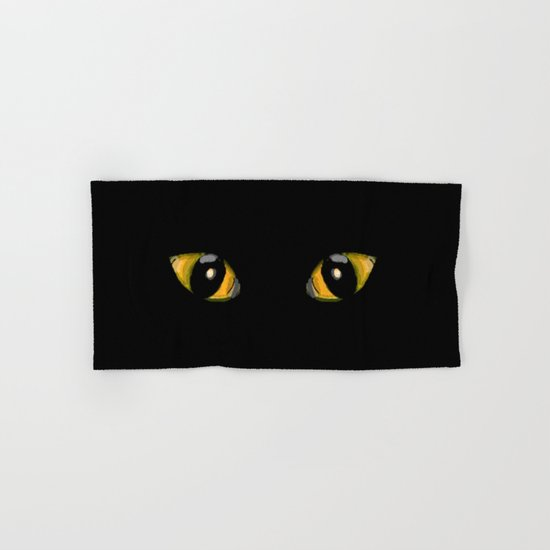 Cats Eyes Hand & Bath Towel