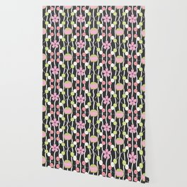 Hanami Nummies   Black Wallpaper