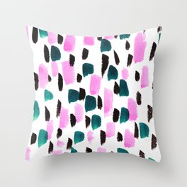 At Midnight Throw Pillow