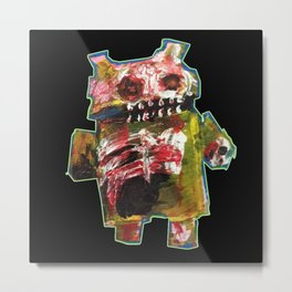 Android Zombie Art by Jack Larson Metal Print
