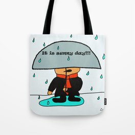 It is sunny day by Lu Tote Bag