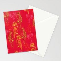 Tropical Birds - Summer School Stationery Cards