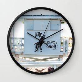 Michael says Beat It! Wall Clock