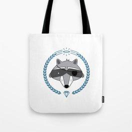 Mr. Raccoon Tote Bag