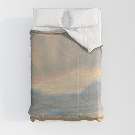 Sunset by Eugène Delacroix ca.1850, French Comforters