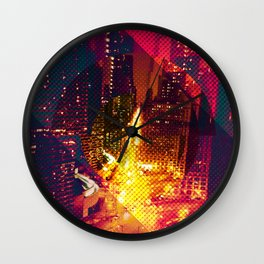 Wabashed Wacker Wall Clock
