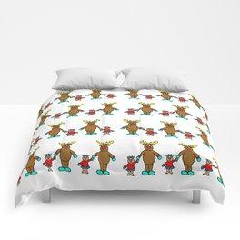 Cute christmas buddies pattern Comforters